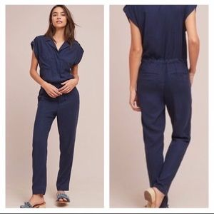 Anthropologie x Sanctuary Surplice Jumpsuit
